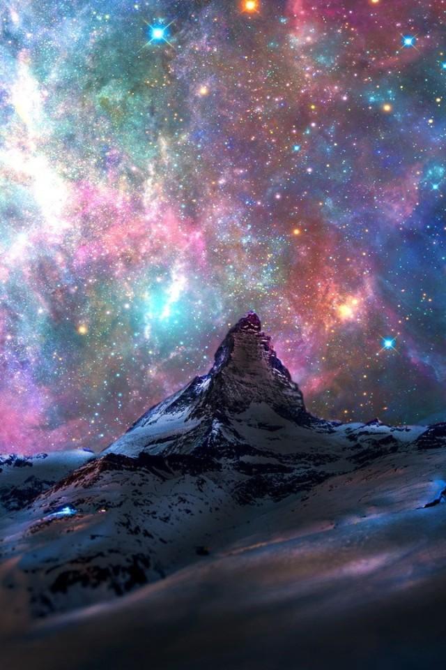 landscape space nebula - photo #7