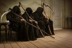 Resting Death Grim Reapers