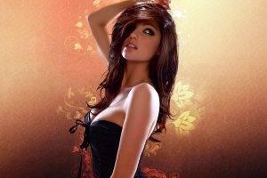 Abstract Hot Girl