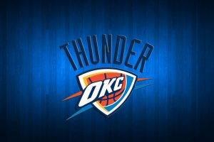 Oklahoma City Thunder Basketball Team Logo