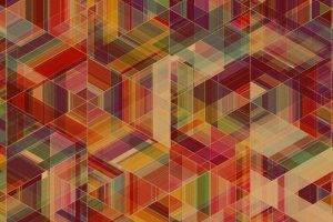 Abstract Multicolor Patterns Simon C_ Page retro wall