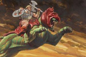 Tigers Artwork HeMan