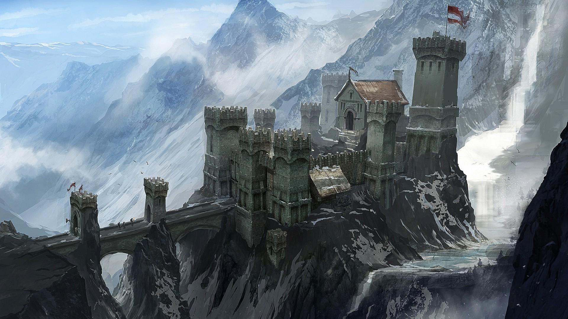 Dragon Age, Dragon Age Inquisition, Skyhold (Dragon Age
