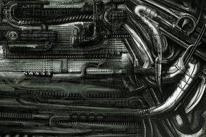 H. R. Giger, Artist, Abstract
