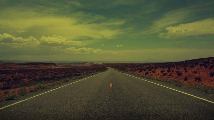 landscape, Nature, Road HD Wallpaper Desktop Background