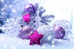 New Year, Sparkles, Christmas Ornaments, Snowflakes, Stars