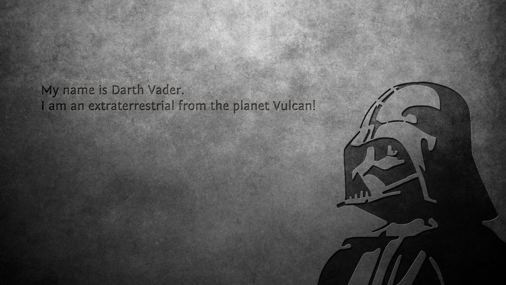 Quote darth vader star wars wallpapers hd desktop and - Star wars quotes wallpaper ...