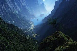 mountain, Nature, Landscape, Canyon