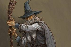 Gandalf, Artwork, The Lord Of The Rings, Wizard