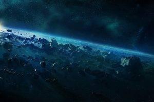 Halo, Space, Digital Art