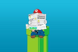 Mario Bros., Toilets, Humor