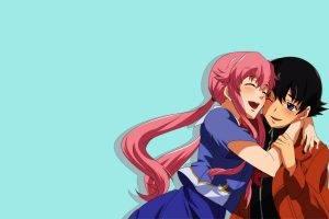 Mirai Nikki, Gasai Yuno, Yandere, Yukiteru Amano, Anime