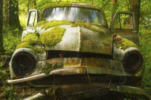 vehicle, Car, Abandoned