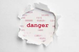 quote, Numbers, Danger, Binary, White Background, Paper