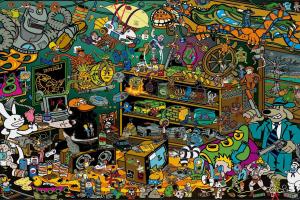 Teenage Mutant Ninja Turtles, Batman, Garfield, Sam And Max, Ghostbusters, Nightmare On Elm Street, Calvin And Hobbes, Gremlins, Super Mario, Video Games, The Legend Of Zelda: A Link To The Past