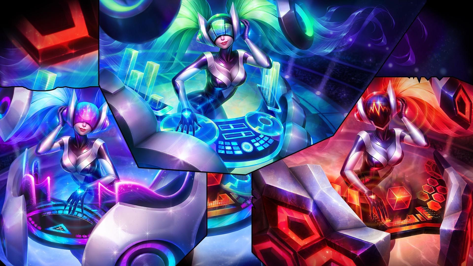 League Of Legends, Sona, DJ Sona Wallpapers HD / Desktop ...