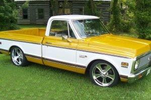 1967, 1968, 1969 Chevrolet C K, 1970, 1971, 1972, Chevy, Chevrolet, Chevrolet C K, C20, Truck, Cheyenne, Custom