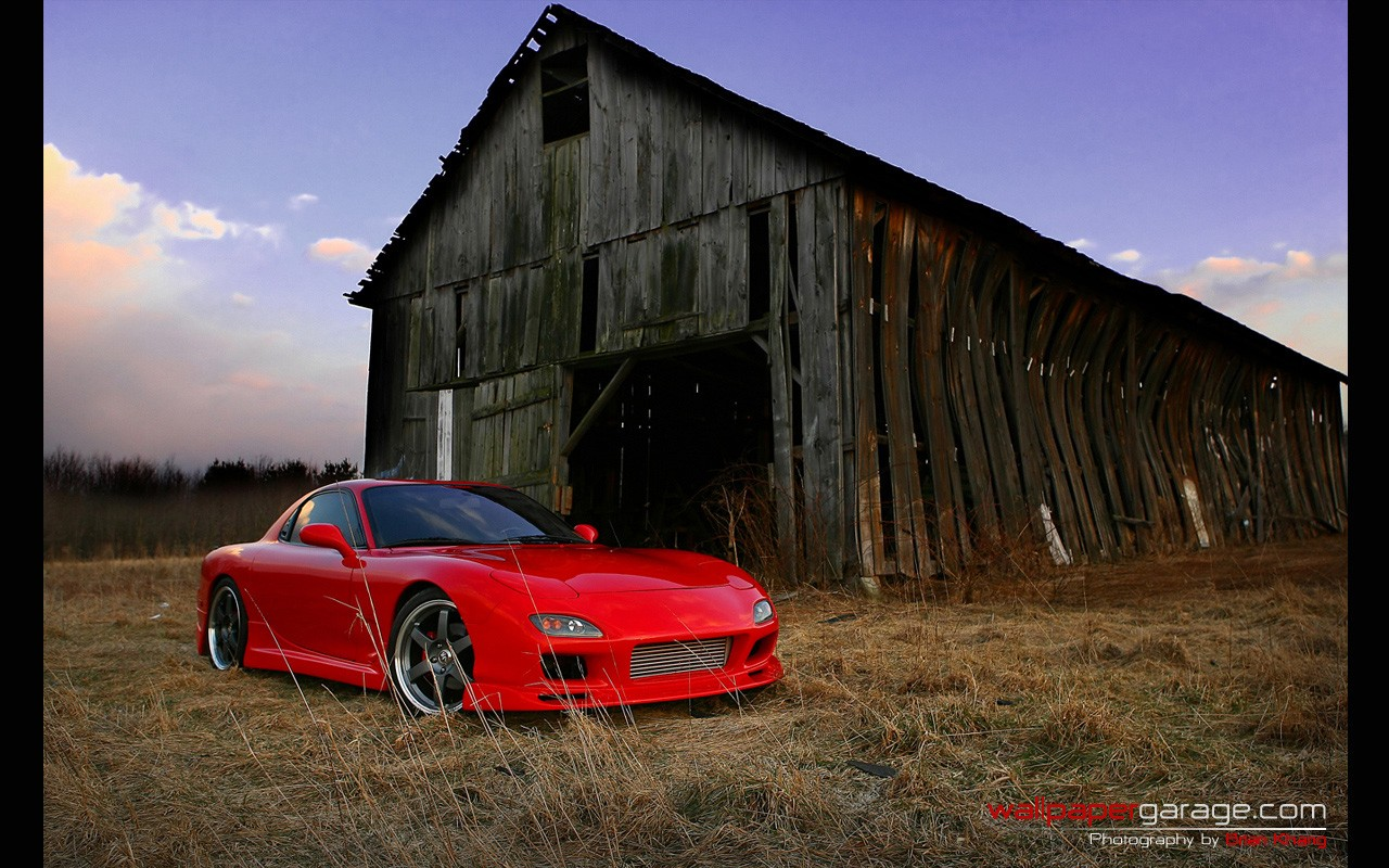 Car, Mazda RX 7, Mazda, Red Cars Wallpapers HD / Desktop And Mobile  Backgrounds