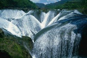 nature, Landscape, Waterfall