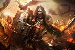 fantasy Art, Diablo III, Video Games, Warrior, Raven