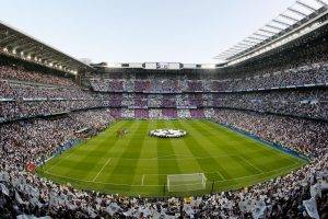 Santiago Bernabeu Stadium, Real Madrid, Champions League, Soccer Pitches