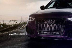 Audi, RS6, Purple, ADV.1, ADV.1 Wheels, Quattro, Audi Quattro, Car