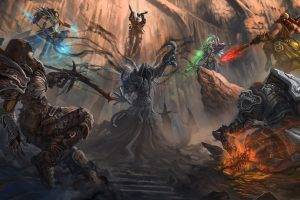 Diablo, Diablo III, Fantasy Art, Digital Art, Video Games