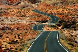 landscape, Road