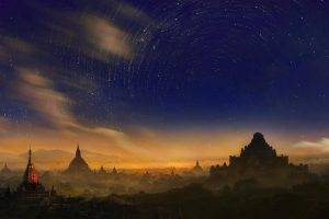 Weerapong Chaipuck, Bagan, Burma, Myanmar, Stars, Space, Sky, Long Exposure