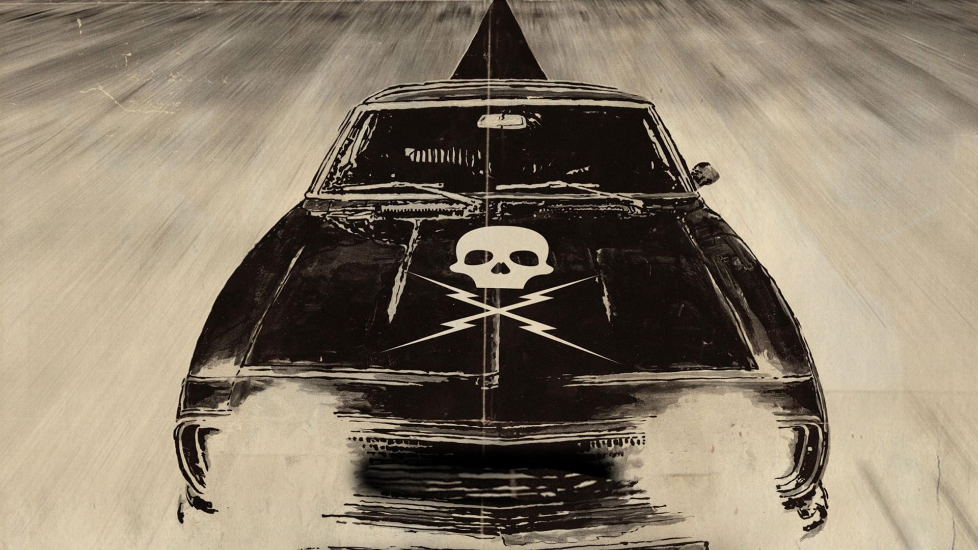 skull, Car, Muscle Cars, Grindhouse Wallpapers HD ...