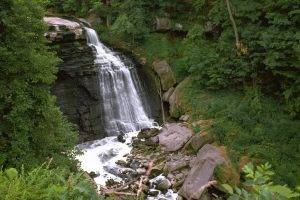landscape, Nature, Waterfall