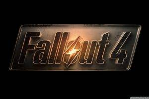 Fallout 4, Video Games, Logo, Fallout