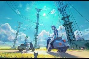 anime, Anime Girls, Women Outdoors