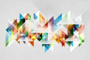 abstract, Shapes, Colorful