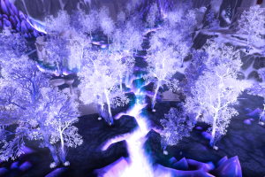 blue, World Of Warcraft, Blizzard Entertainment, Video Games, Crystalsong Forest