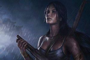 video Games, Video Game Characters, Video Game Girls, Tomb Raider, Lara Croft, Fan Art, Artwork