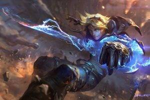 Ezreal, League Of Legends, Video Games, Artwork, Concept Art