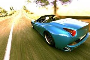 Ferrari California, Gran Turismo 5, Car, Ferrari, Video Games, Racing Simulators