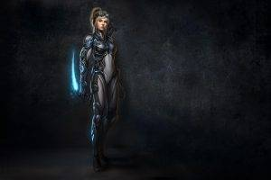 women, PC Gaming, Nova, Starcraft II