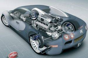 vehicle, Car, Sports Car, Wheels, Brakes, Engines, Bugatti, Bugatti Veyron 16.4 Super Sport, Bugatti Veyron, Sketches, 3d Object, Render, Technology