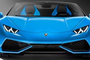 car, Lamborghini Huracan LP 610 4, Spyder, Convertible, Multiple Display