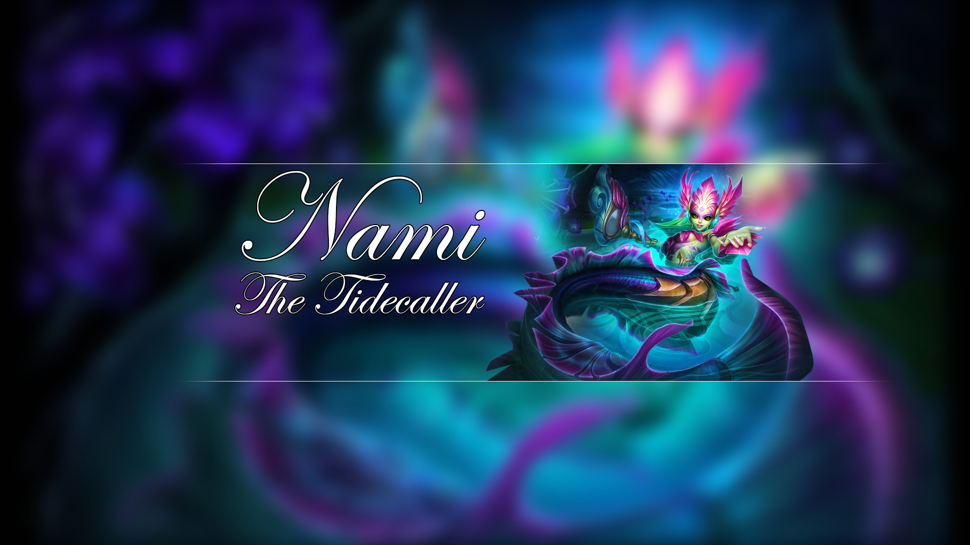 League Of Legends Support Nami League Of Legends Wallpapers Hd