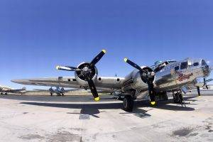 military, Aircraft, Boeing B 17 Flying Fortress