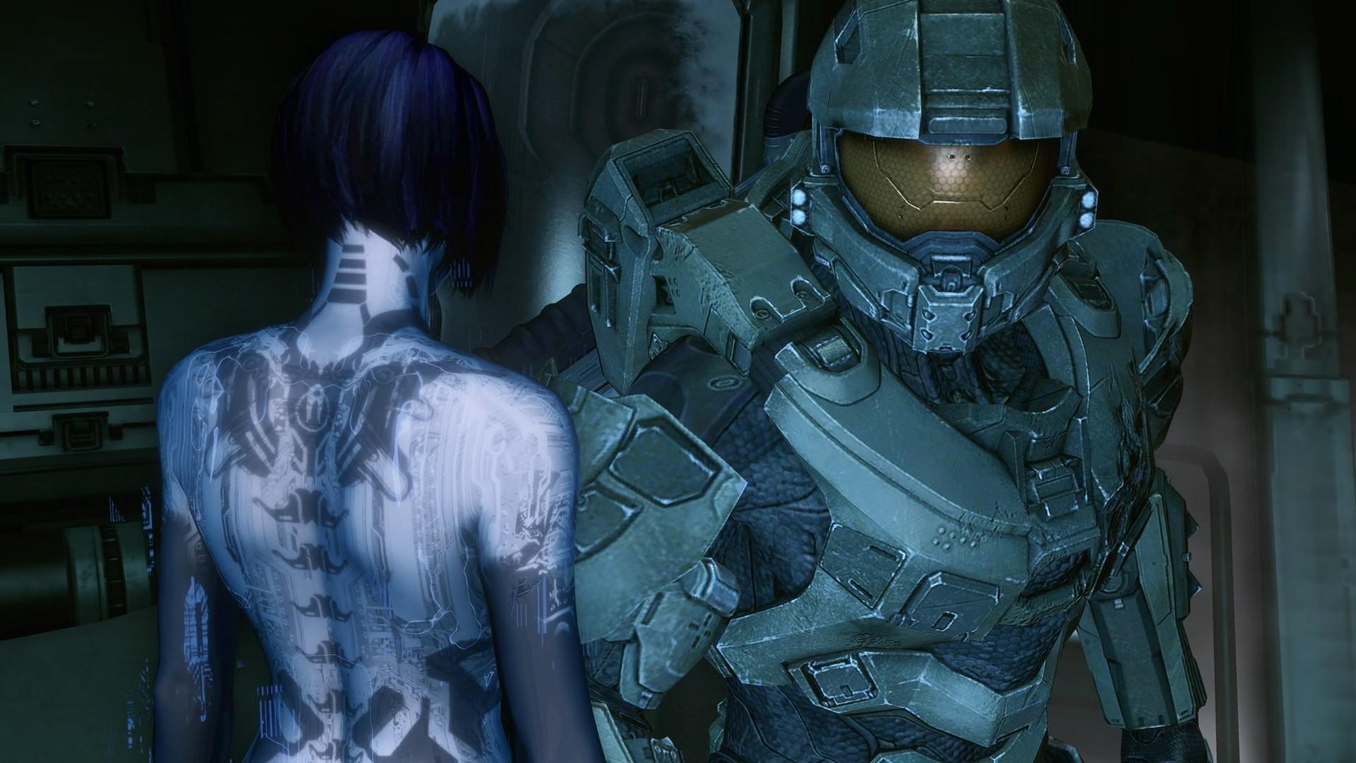 Halo Video Games Master Chief Cortana Wallpapers Hd Desktop