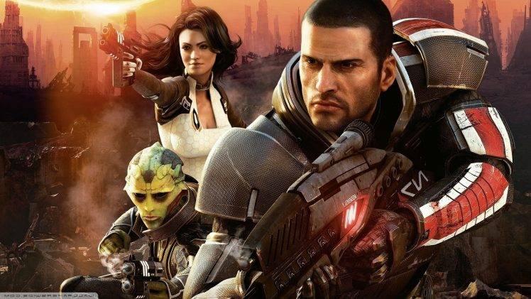 Mass Effect, Video Games, Mass Effect 2 Wallpapers HD / Desktop and Mobile Backgrounds
