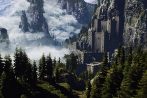 The Witcher 3: Wild Hunt, Geralt Of Rivia, The Witcher, Landscape, Mountain