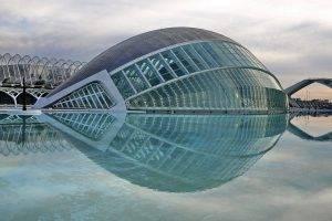 reflection, Planetarium, Spain