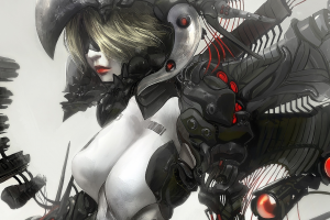 women, Cyborg, Artwork, Fantasy Art, Ghost In The Shell, Androids