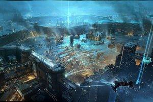 artwork, Fantasy Art, City, Futuristic