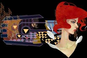 Transistor, Video Games, Red (Transistor)